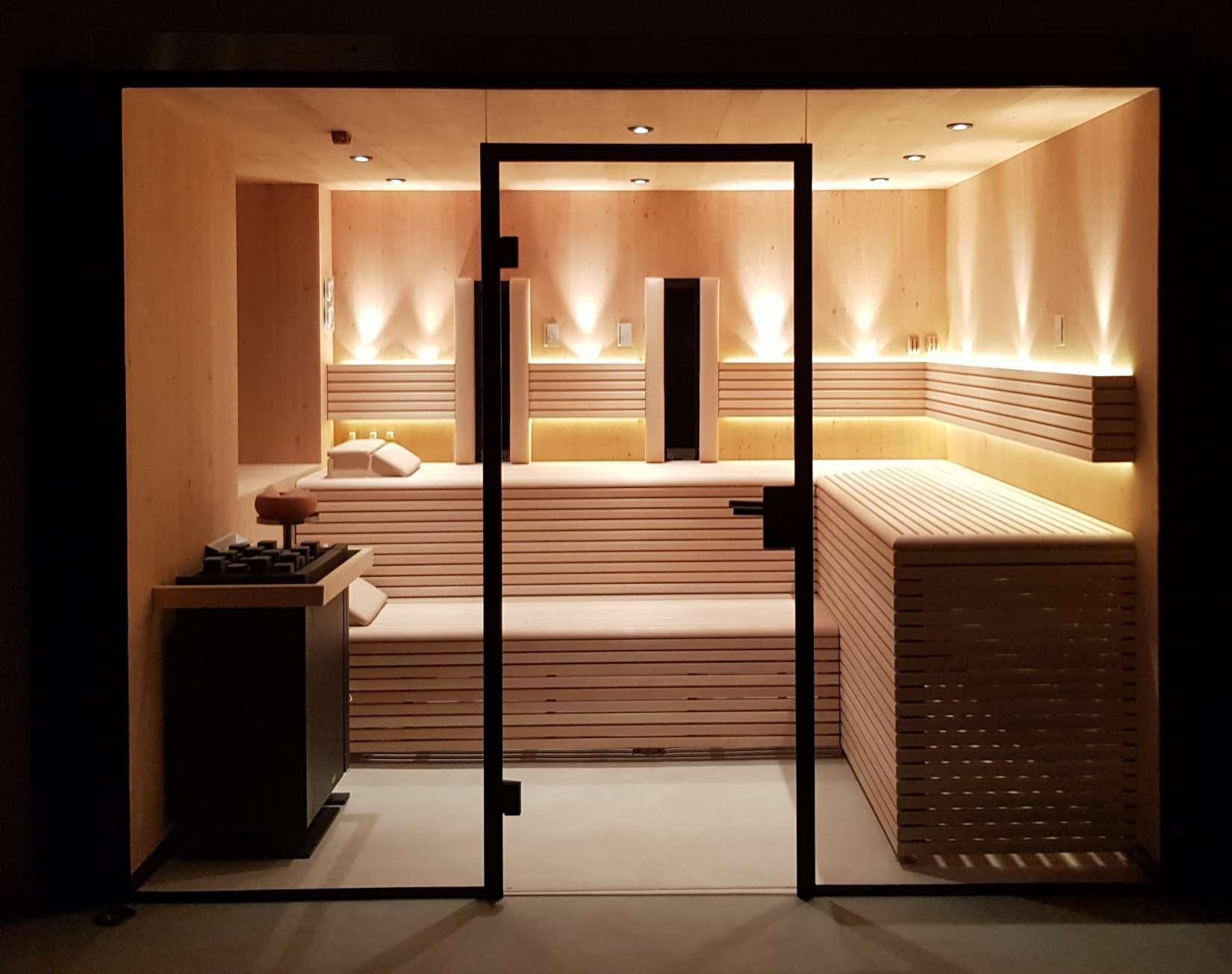 Sauna eiche wels