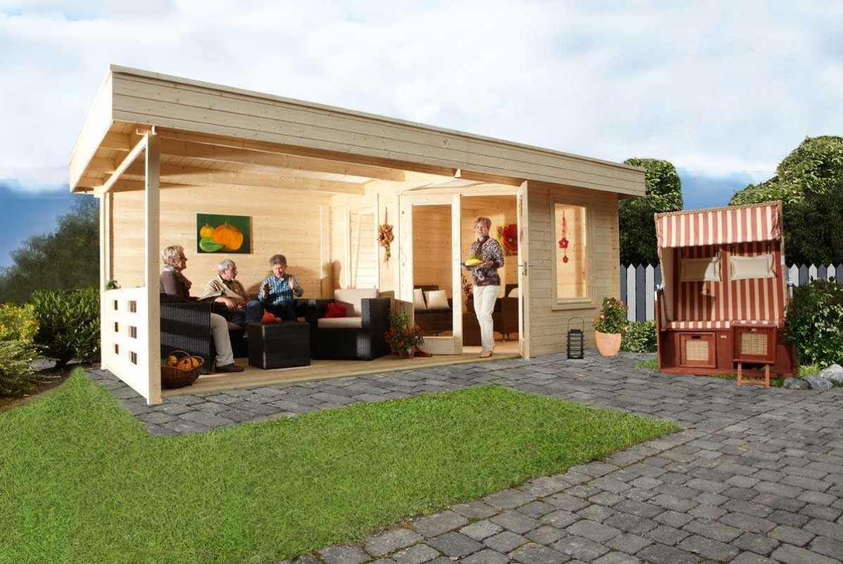 Gartenhaus Nadja 5828 mit Terrasse