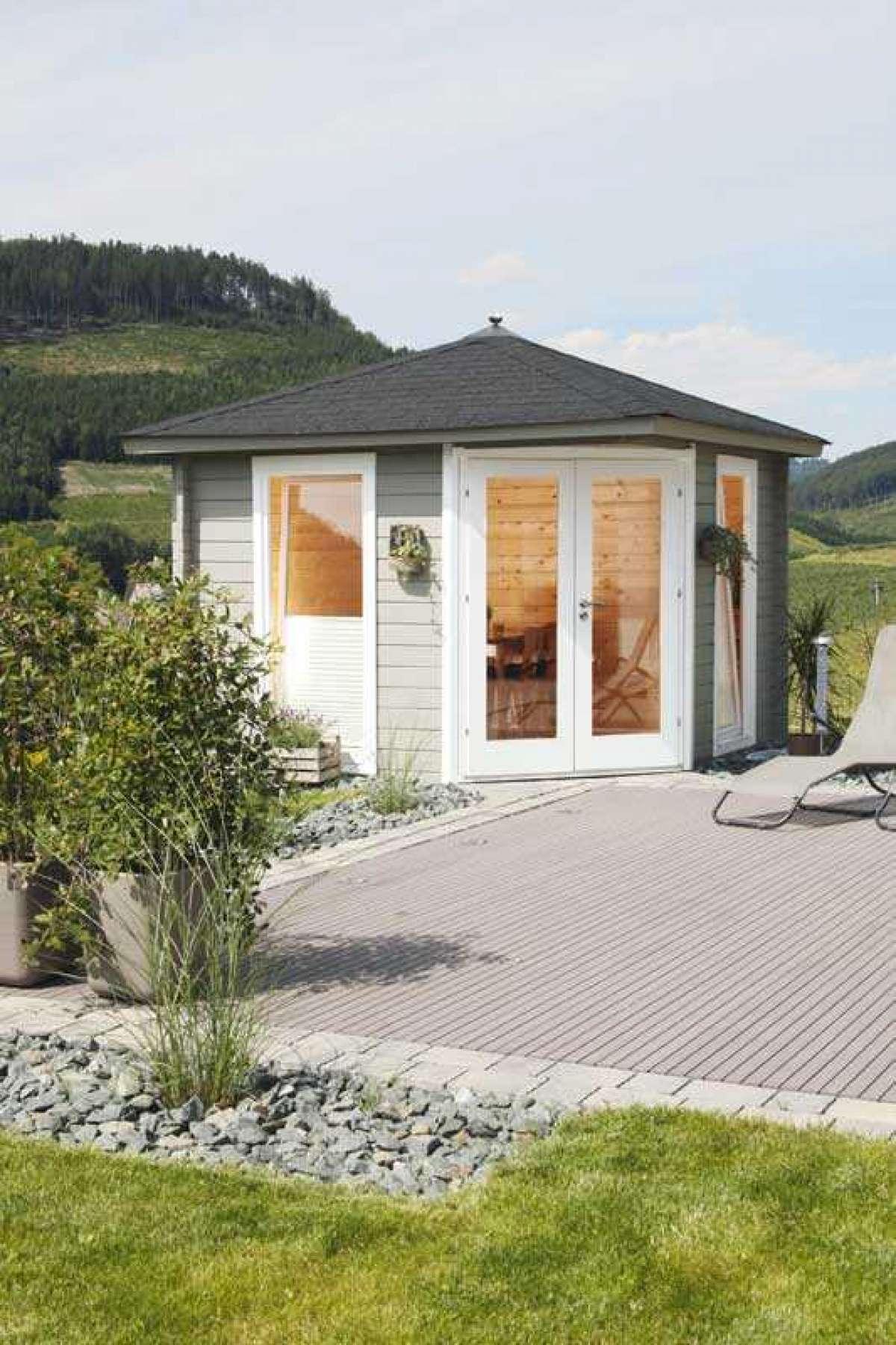 5-Eck-Gartenhaus Kira 3030