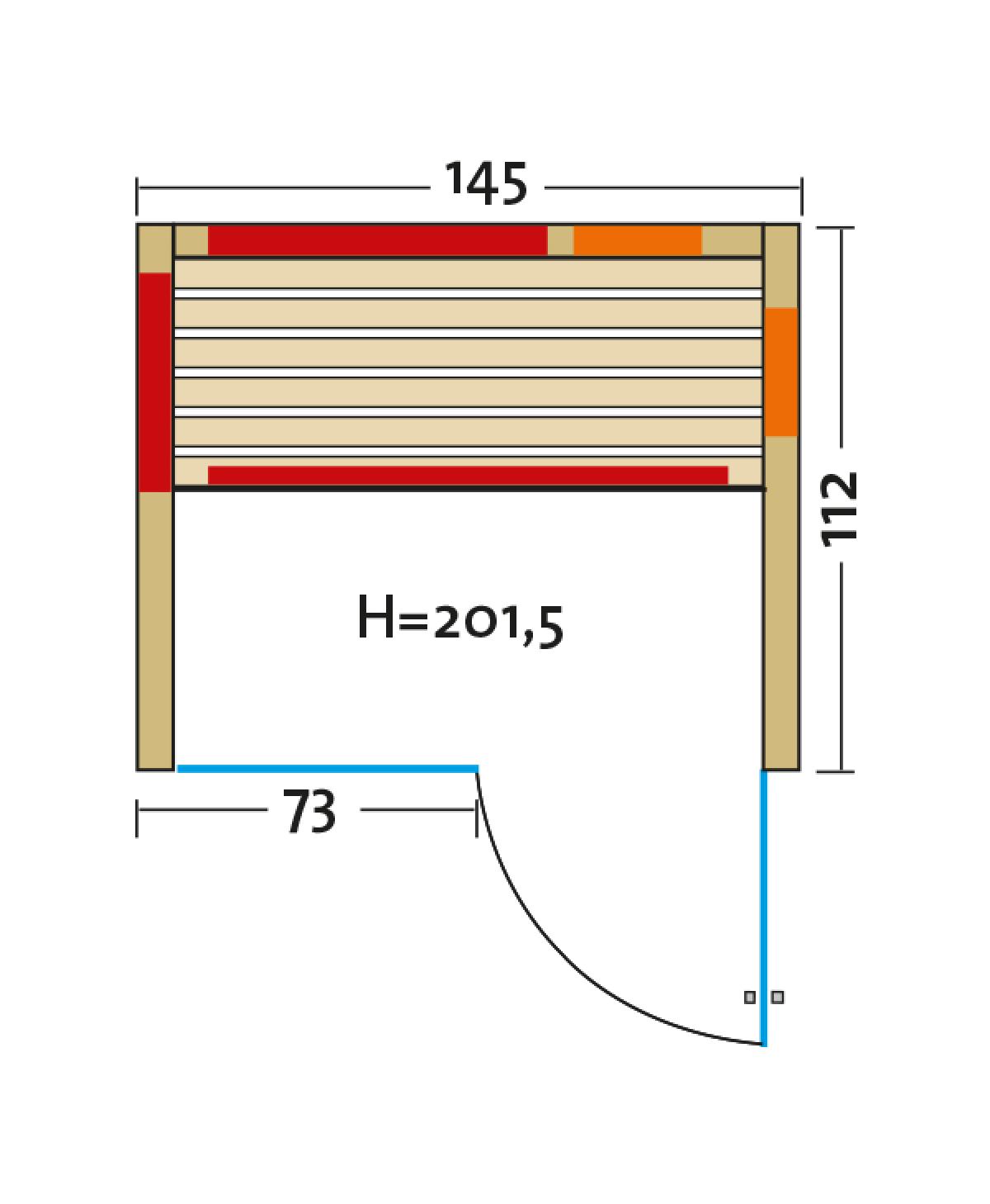Fusion Glas 145 Espe VG grundriss luere rechts