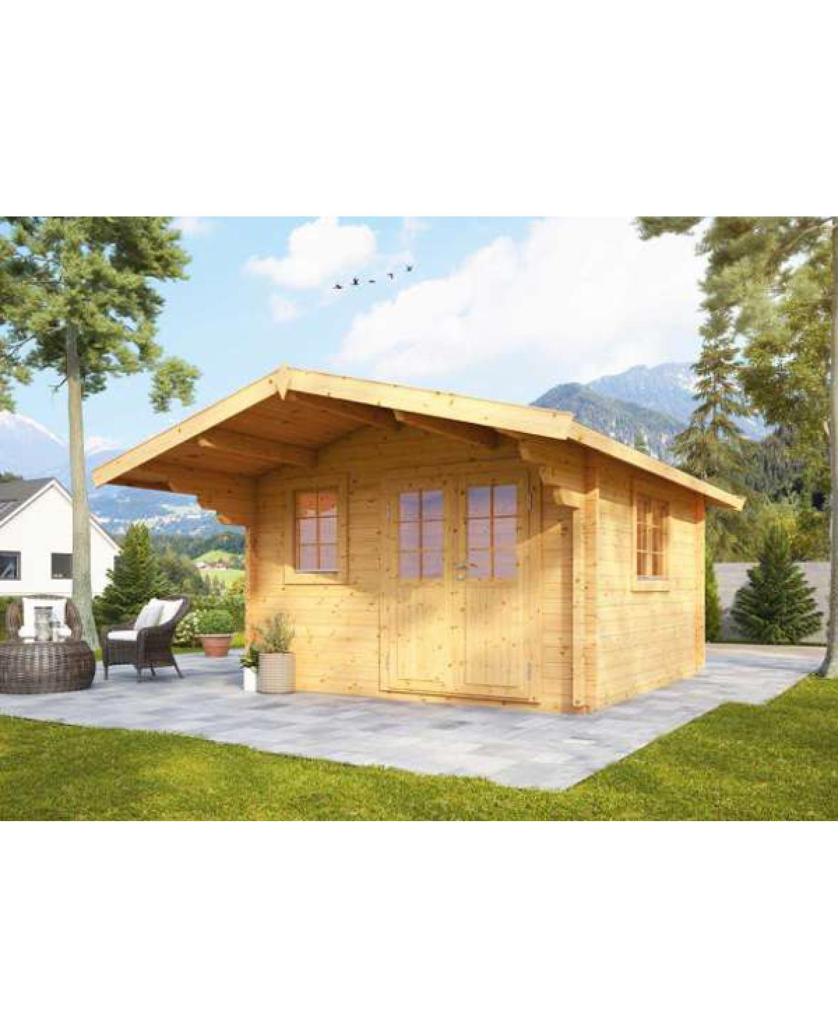 Holzgartenhaus Nova 3630