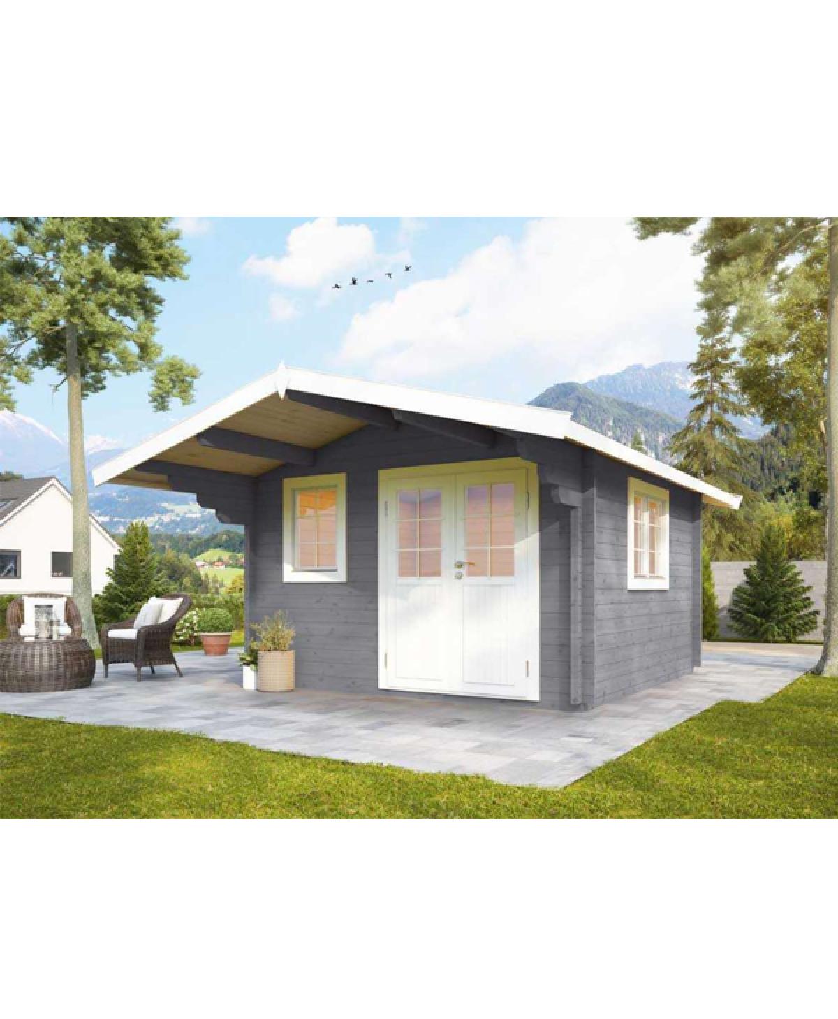 Holzgartenhaus Nova 3636