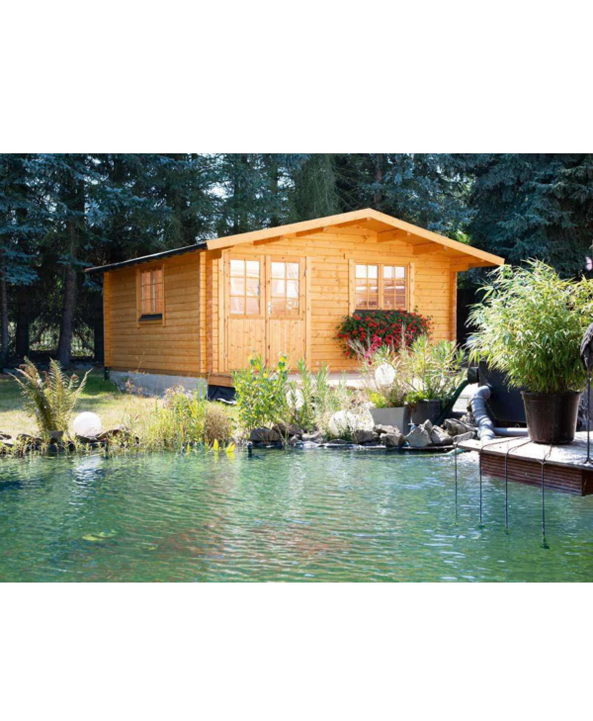 Holzgartenhaus Nova 4536