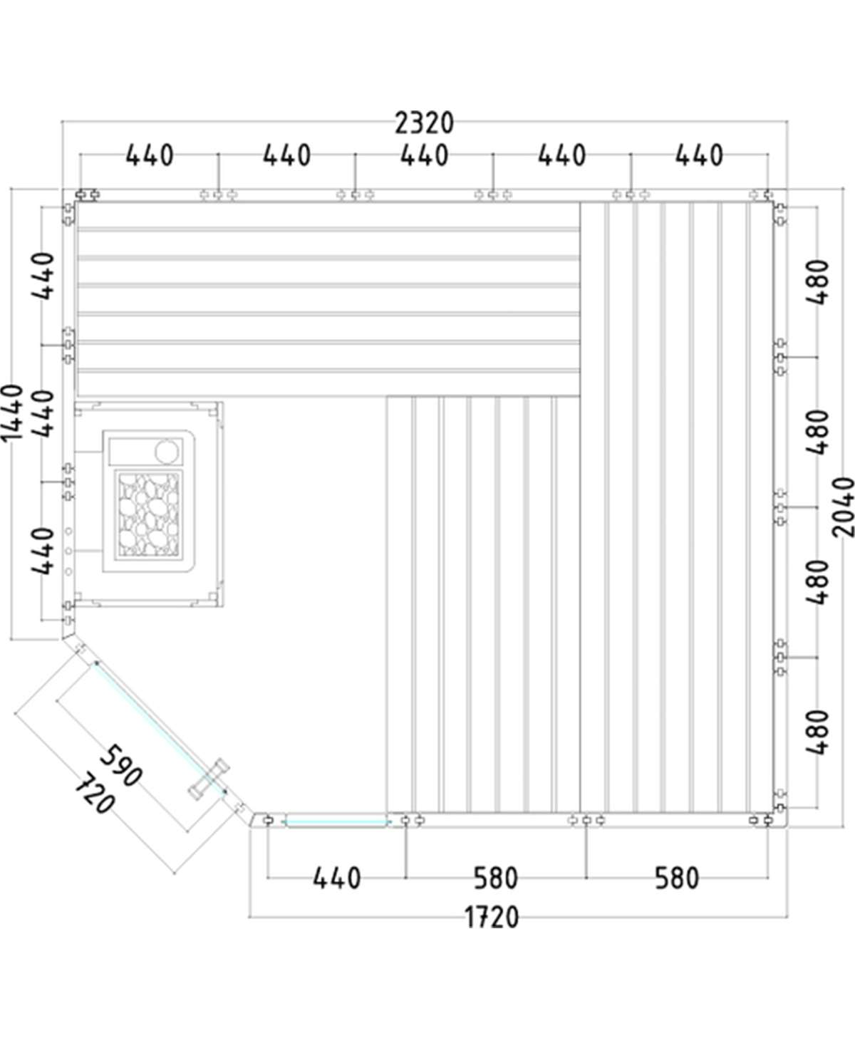 Komfort corner large grundriss