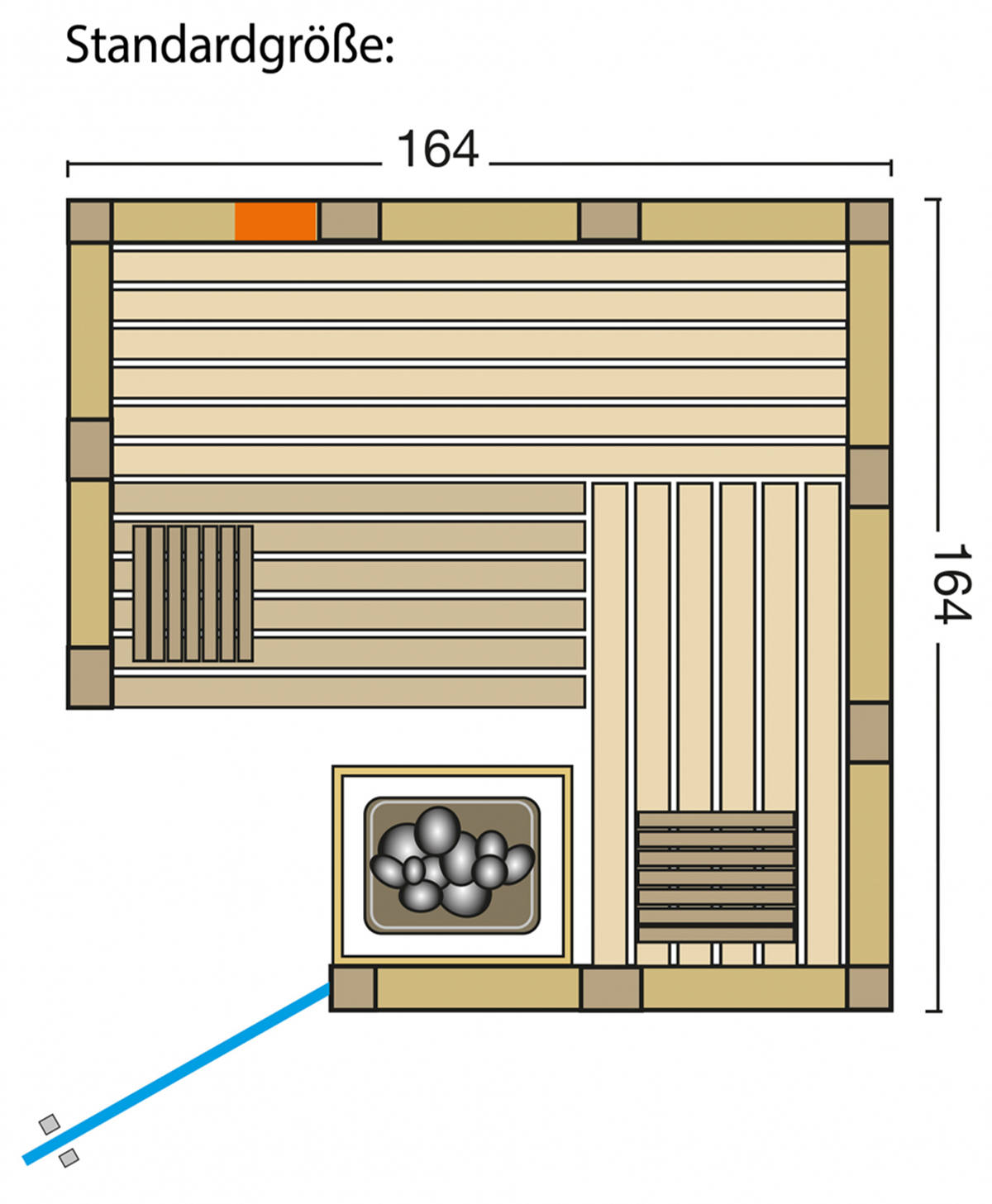 Sauna Urban Complete Grundriss