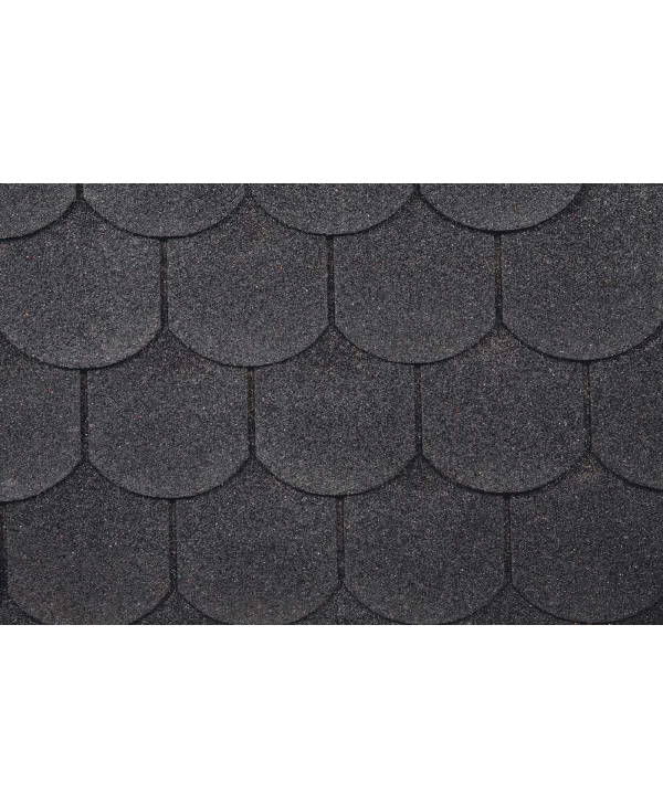 Dachschindeln Biberschwanz Schwarz