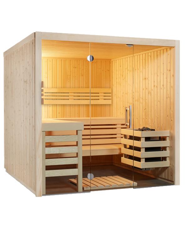 Sauna Panorama Infraworld