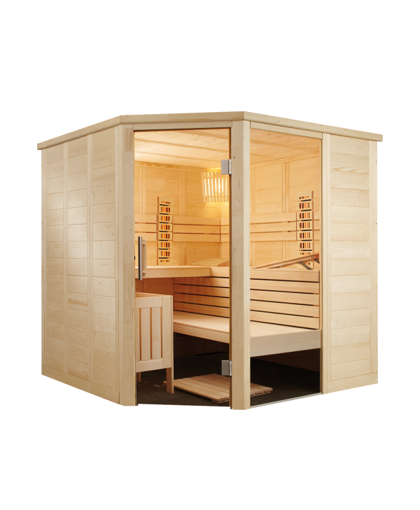 Sauna alaska corner infra plus