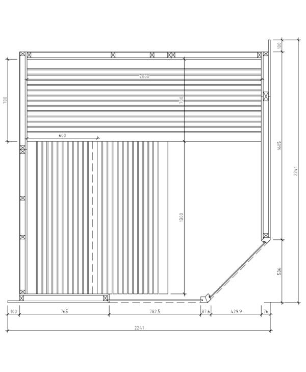 Sauna taurus 2020 grundriss